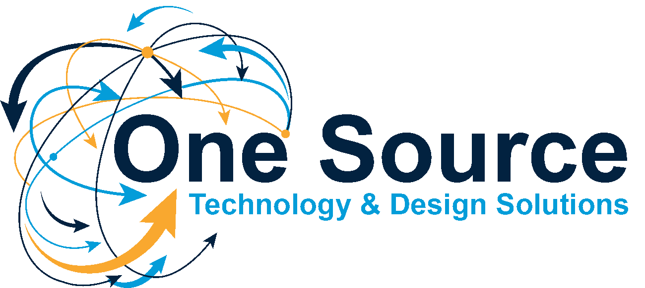 logo that says One Source Technology & Design